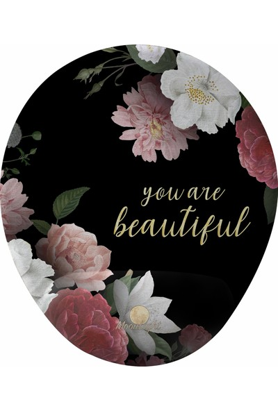 Gameboss You Are Beautiful Bilek Destekli Tasarım Mouse Pad