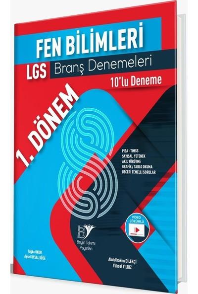 Beyin Takımı Yayınları LGS Fen Bilimleri Branş Denemeleri 1. Dönem