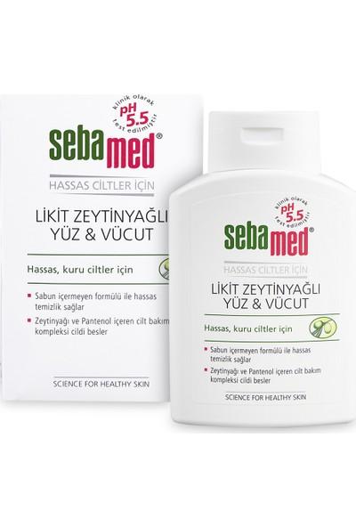 Sebamed Zeytinyağlı Likit Yüz & Vücut Temizleyici 200 ml