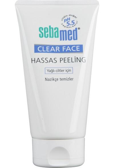Sebamed Clear Face Hassas Ciltler için Yüz Temizleyici Peeling 150 ml