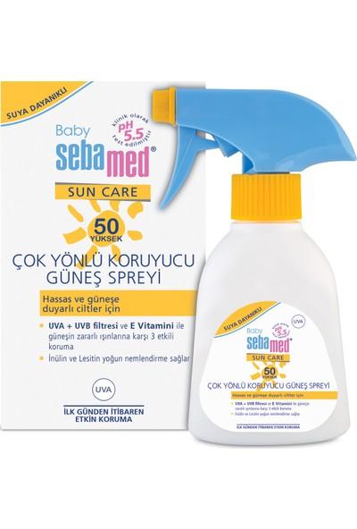 Sebamed Baby Sun Koruyucu Bebek Güneş Spreyi SPF 50 200 ml