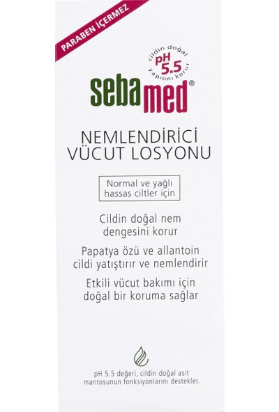 Sebamed Vücut Nemlendirici Losyon 200 ml
