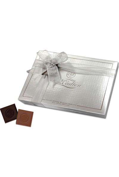 Elit Çikolata VIP Madlen Çikolata Gümüş Kutu 500g