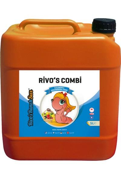 Rivasol Iz Element Katkılı Sıvı Organomineral Gübre 5 lt