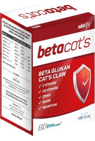 Nbt Betacats 60 Kapsül