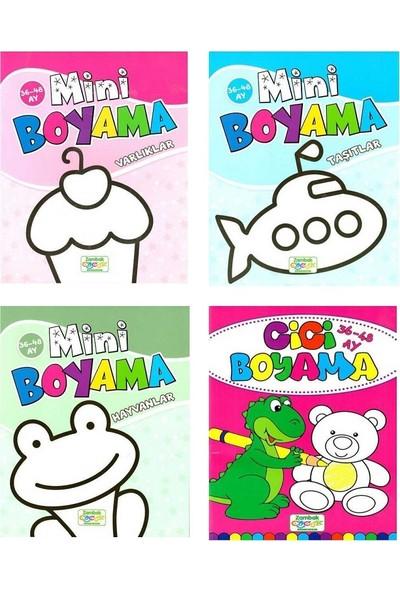 Mini Boyama Seti - 0 - 3 Yaş