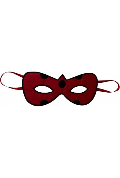 Kostümce Uğur Böceği Maskesi
