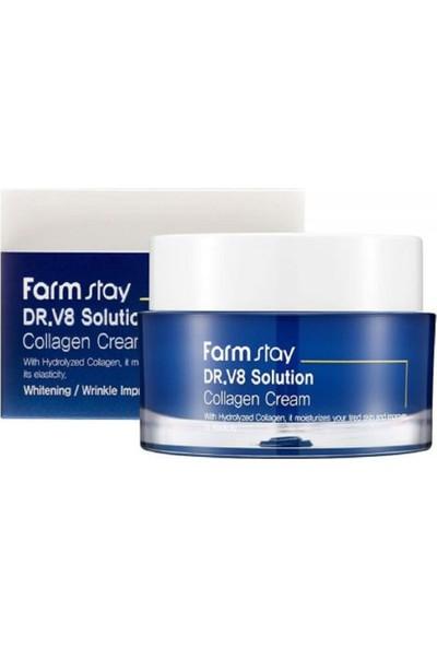 Farm Stay Dr.v8 Sulotıon Collagen Cream 50ML