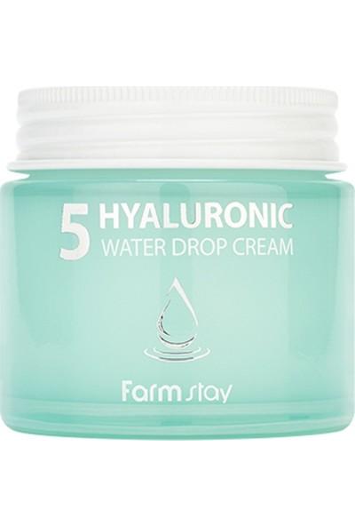 Farmstay Hyaluronıc 5 Water Drop Cream 80ML