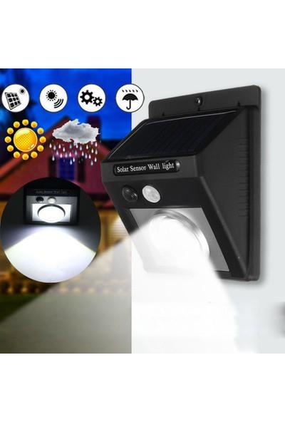 Starmax Solar Hareket Sensörlü Cob LED Aplik Işık