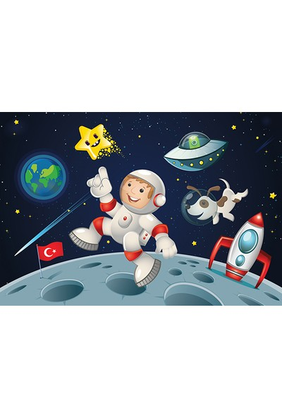 Blue Focus 200 Parça Puzzle - Uzay Yolculuğu