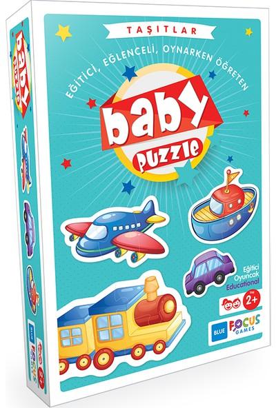 Blue Focus Baby Puzzle - Taşıtlar