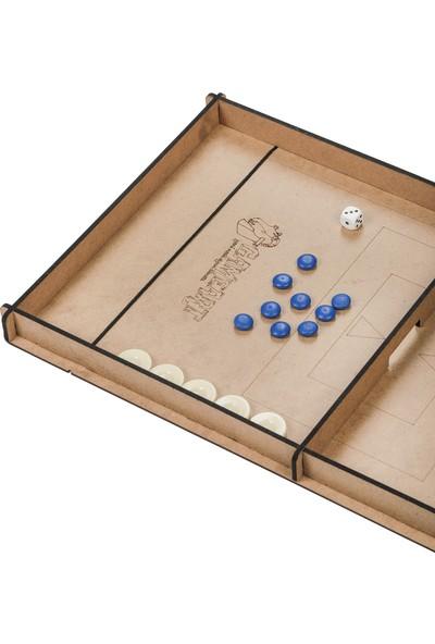 GameArt Fast Sling Puck Game Hızlı Sapan Oyunu - 9 Taş ve 3 Taş Oyunu