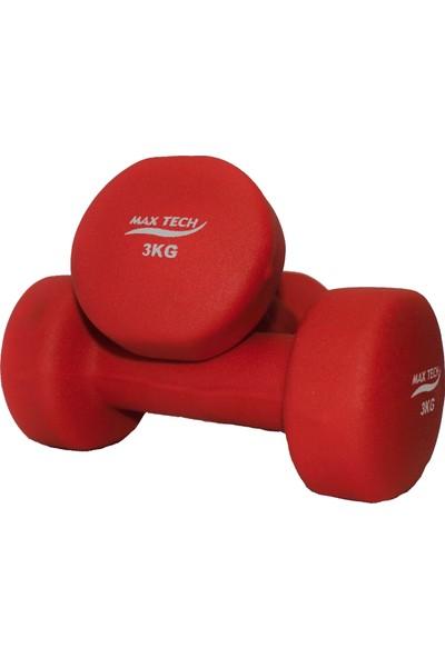 Max Tech 3 kg Çift Neopren Dambıl