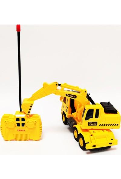 Pasifik Toys City Builder İş Makineleri Uzaktan Kumandalı Kepçe