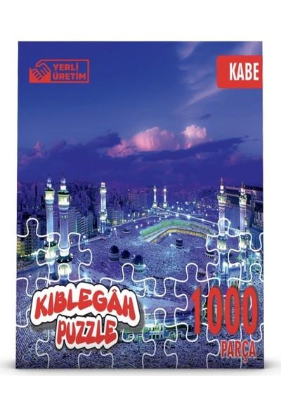 Kıblegah 1000 Parça Puzzle Kutsal Mekanlar Kabe