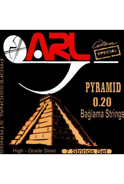Arl Pyramid Uzun Sap Bağlama Teli 0.20 1 Takım (7 String Set )