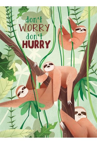 Clementoni - 500 Parça Fantastic Animals Yetişkin Puzzle - Sloth