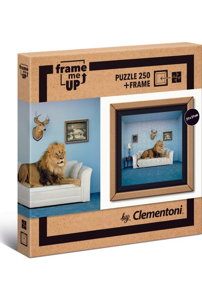 Clementoni - 250 Parça Frame Me Up Yetişkin Puzzle - The Master of the House