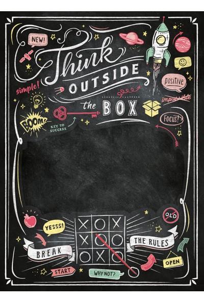 Clementoni - 1000 Parça Blackboard Yetişkin Puzzle - Think Outside the Box