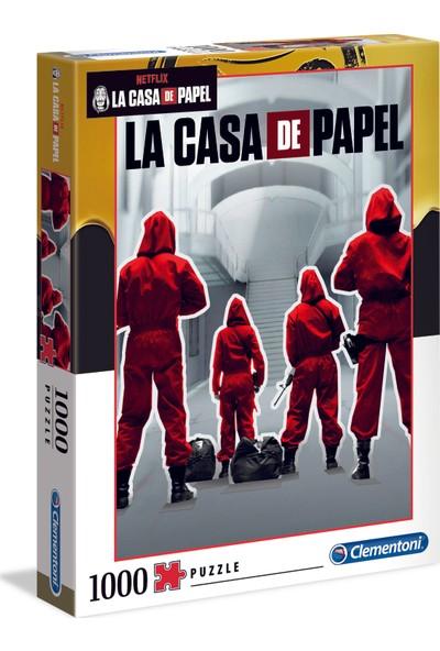 Clementoni - 1000 Parça La Casa De Papel Yetişkin Puzzle - 1