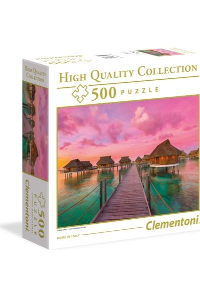 Clementoni - 500 Parça High Quality Yetişkin Puzzle - Colourful Paradise