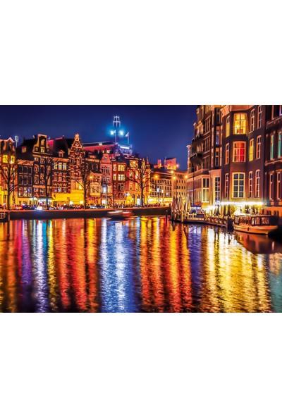 Clementoni - 500 Parça High Quality Yetişkin Puzzle - Amsterdam
