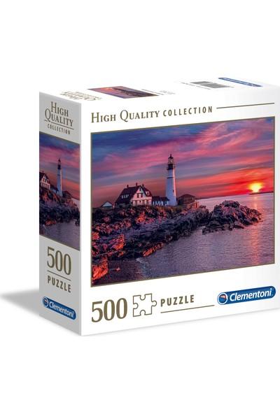 Clementoni - 500 Parça High Quality Yetişkin Puzzle - Portland Head Light