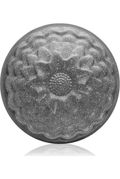 EWS Ayçiçeği Desenli Gri 26 cm Kek Kalıbı