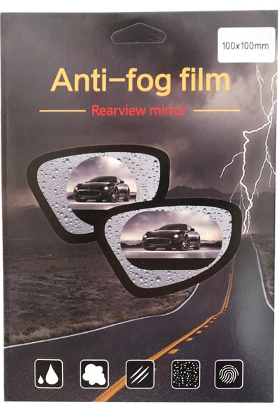 Vestark Araç Ayna ve Cam Buğu Önleyici ve Yağmur Kaydırıcı Film