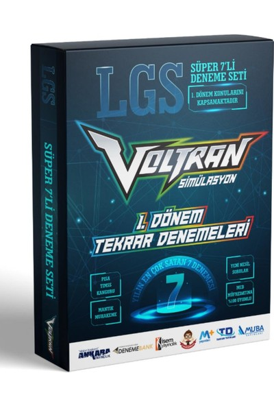 Voltran Lgs Karması Süper 7'li Deneme Seti