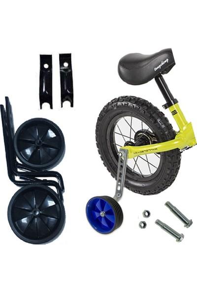 Dilaver Kalın Demirli 16 ve 20 Jant Bisiklet Yan Denge Tekeri - Bisiklet Eğitim Desteği Yan Tekeri