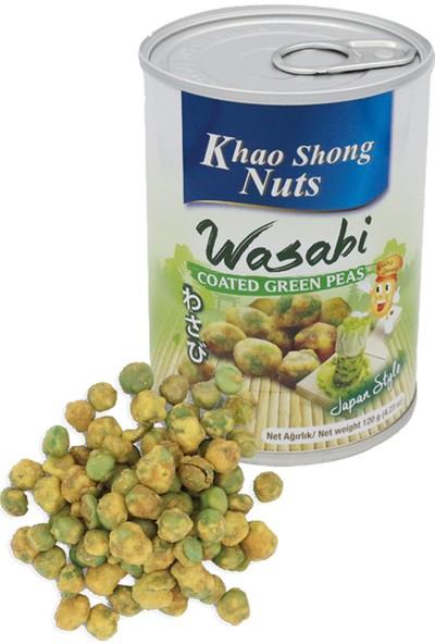 Khao Shong Acı Biber ve Misket Limon Soslu Çıtır Yer Fıstığı, Kahve Kaplı Çıtır Yer Fıstığı, Wasabi Kaplı Bezelye