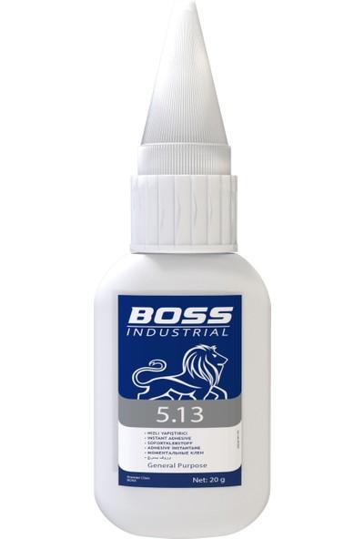 Boss 5.13 Süper Yapıştırıcı Şeffaf 20 gr