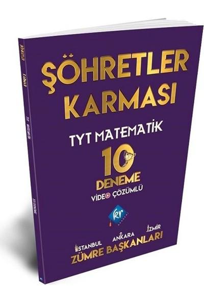 Kr Akademi Şöhretler Karması TYT Matematik 10 Deneme