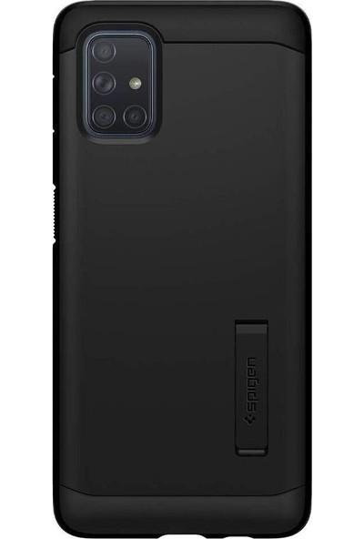Spigen Samsung Galaxy A71 Kılıf Tough Armor Black - ACS00933