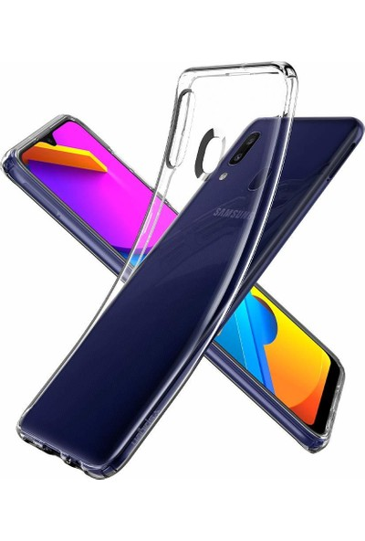 Spigen Samsung Galaxy M10s Kılıf Liquid Crystal Clear - ACS00550
