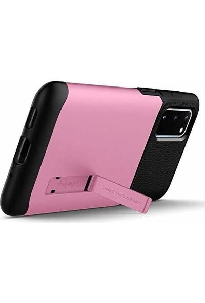 Spigen Samsung Galaxy S20 Kılıf Slim Armor Rusty Pink - ACS00660