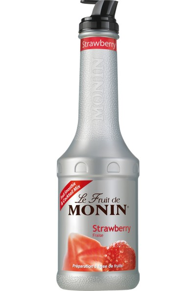 Monin Püre Fruit Strawberry-Çilek 1 Lt