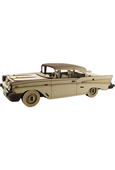 3D Sergi Ahşap Chevrolet Bel Air 1957 Maketi 170 Parça
