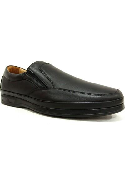 Slope 6090 Siyah Bağcıksız Comfort Erkek Ayakkabı