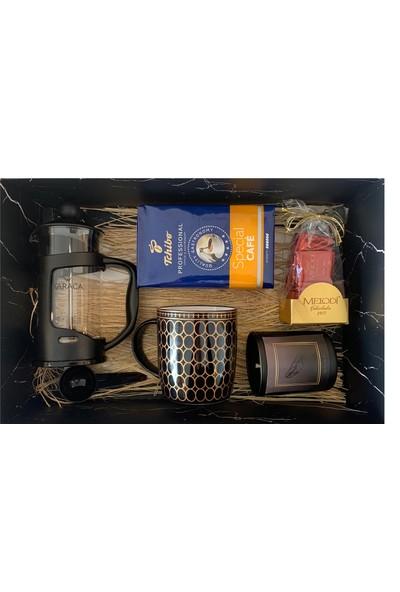 My Love My Box Exclusive French Press+Mug Kahve Seti
