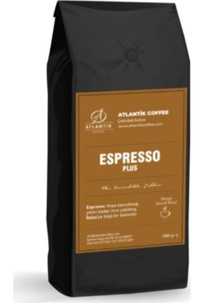 Atlantik Espresso Plus Sert Içim Çekirdek Kahve 1 kg