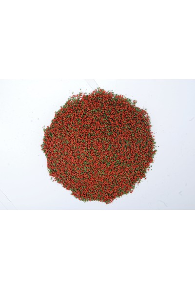 Cichlid Mix Granül Astaxanthin ve Algea Omega-3 Protein Bitkisel Karışık 1000 ml Malawi Ciklet Yunus Sarı Prenses Ahli Balık Yemi