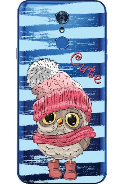 Bikapak LG Q7 Plus Cute Desenli Arka Kapak