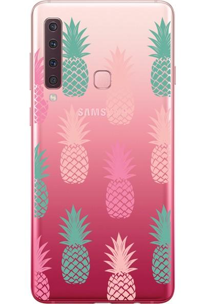 Bikapak Samsung Galaxy A9 2018 Ananas Desenli Arka Kapak
