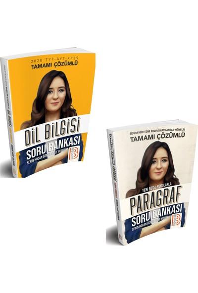 Benim Hocam Yayınları 2020 KPSS Lisans Dil Bilgisi + 2020 Tüm Sınavlar Için Paragraf Soru Bankası Seti