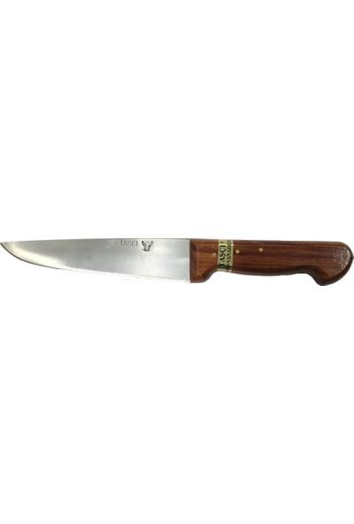 Taşçı Vanadium Çelik Kasap Bıçağı Ağaç Sap No: 3