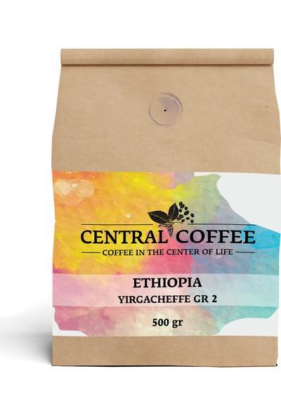Central Coffee Ethiopia Yirgacheffe 500 gr Çekirdek
