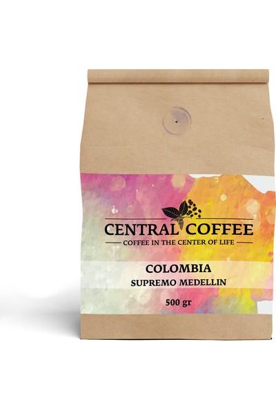Central Coffee Colombia Supremo Medellin 500 gr Çekirdek